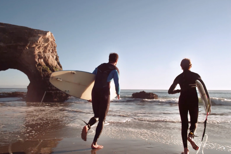 Tourism commercial for Santa Cruz by commercial director Jerry Dugan and FLF Films.